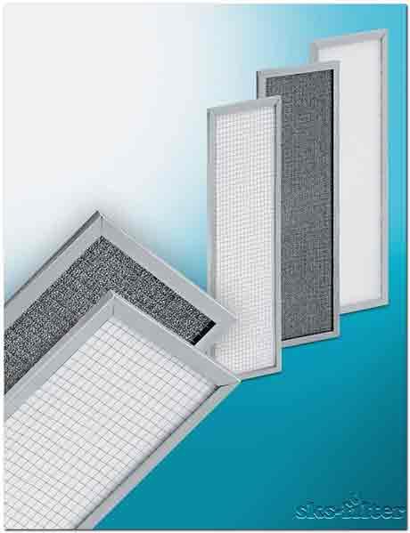 Фильтр для фанкойла является сменным аксессуаром во внутренних блоках систем кондиционирования воздуха