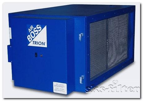 Электростатический фильтр T1002 удаляет загрязнения из воздуха дым,масляный туман, мелкие фракции пыли, жиры от приготовления пищи