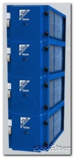 Электростатический фильтр Т4002 обеспечивает наивысший уровень очистки воздуха от разнородных примесей