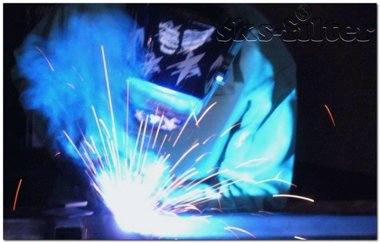Процесс сварки и выделения вредностей в производственных помещениях