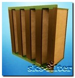 Угольный фильтр компактного типа