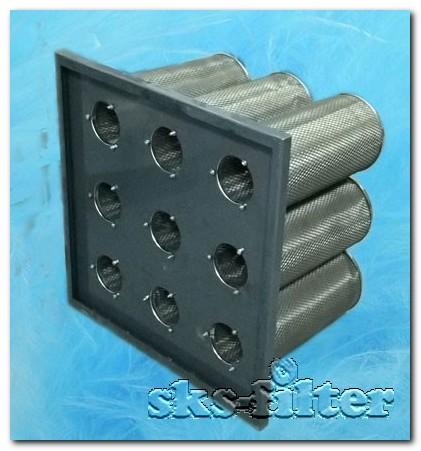 Угольный фильтр цилиндрического типа