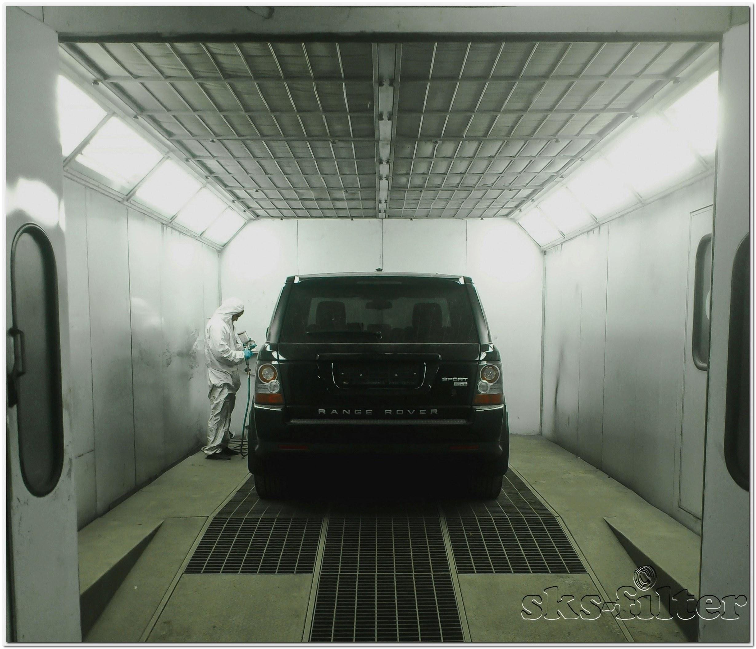 Фильтрация воздуха в помещениях покрасочных камер